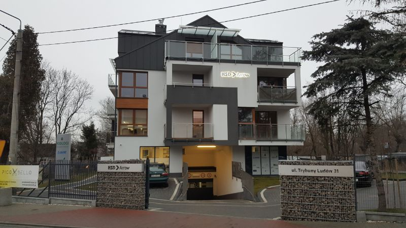 Blok w Krakowie, ul. Trybuny Ludów