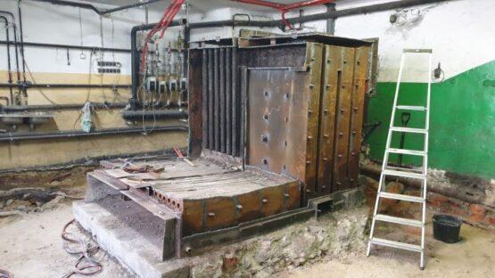 Kotłownia przed modernizacja